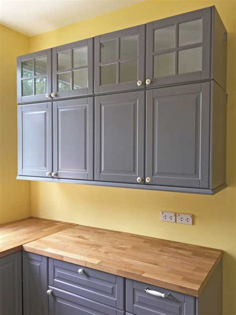 How To Whitewash Paint Cabinets Already Stained by Painted Vs Stained Cabinets