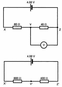 Find The Voltmeter Reading In A Circuit