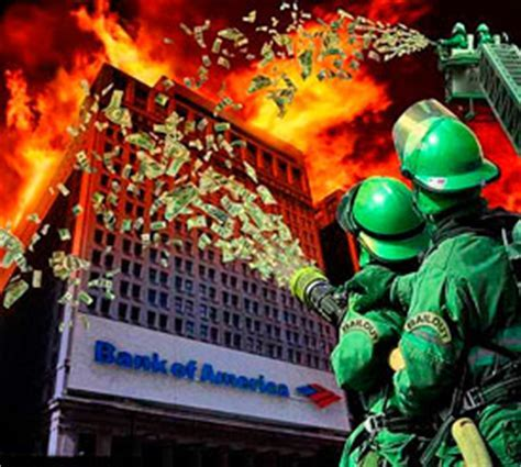 Central Banks Throwing Trillions to Save Burning Banks