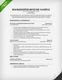 simple resume exles 2015 bookkeeper resume sle projects to try resume exles search and free