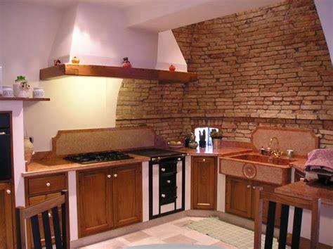 Cucina In Mattoni Faccia Vista by Cucine Con Pareti In Mattoncini Top Cucina Leroy Merlin
