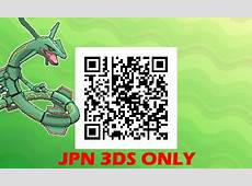 Rayquaza QR Codes for Gen 7 Project Pokemon Forums