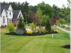 country driveway garden ideas End of Driveway