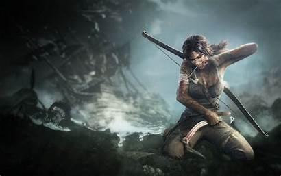 Raider Tomb Lara Croft Wallpapers Desktop Pc