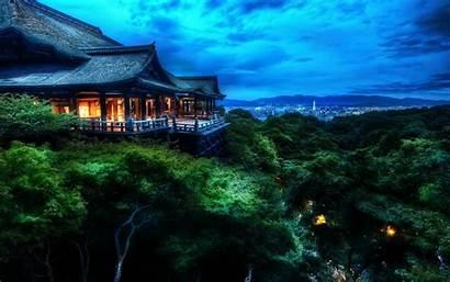 Japan Sunset Kyoto Desktop Wallpapers Backgrounds Mobile
