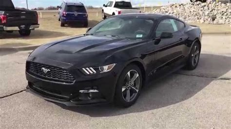 F5325713 2015 Ford Mustang V6 Black @patriotford