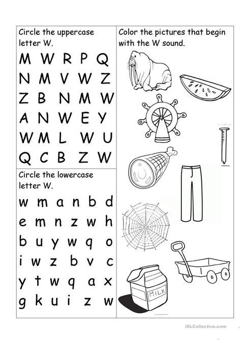 letter w worksheet worksheet free esl printable worksheets made by teachers