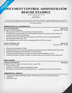 document control administrator resume help With documents control jobs