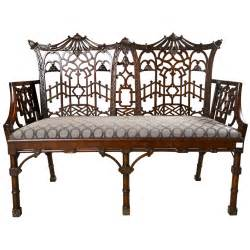 Settee Furniture Definition by Antique Chippendale Settee Canape Chinoiserie