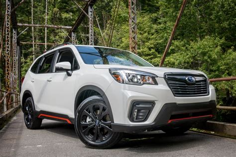 subaru forester 2019 news 2019 subaru forester 4 things we like and 3 not so much