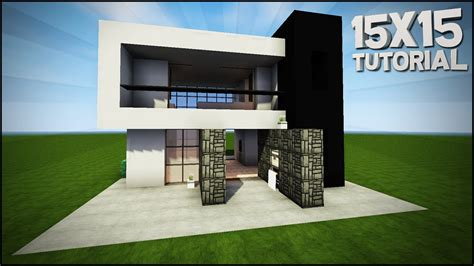 minecraft house tutorial  modern house  house tutorial youtube