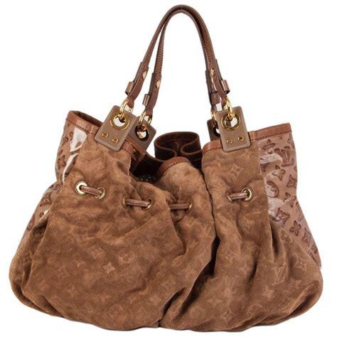 louis vuitton beige monogram suede leather irene coco shoulder bag  ed  sale  stdibs