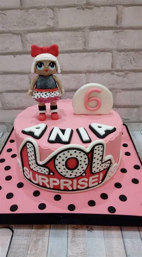 tort na szoste urodziny  laleczka lol surprise torty