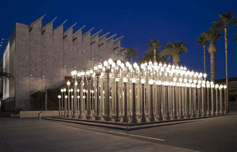 Urban Light At Lacma by Museums In Southern California Offering Free Admission On