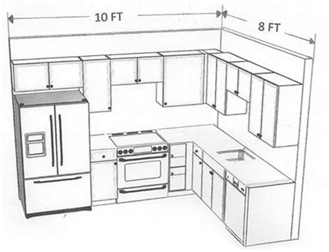 kitchen cabinet layout design 10 x 8 kitchen layout search similar layout with 5549