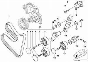 2001 Bmw X5 Serpentine Belt Routing