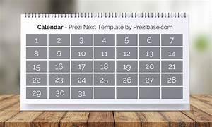 3d Interactive Calendar Maker Online Prezi Next