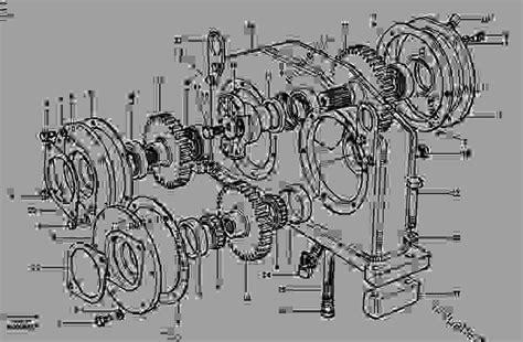 pump gearbox awd motor graders volvo  power