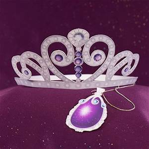 sofia the first tiara and amulet disney family With sofia the first crown template