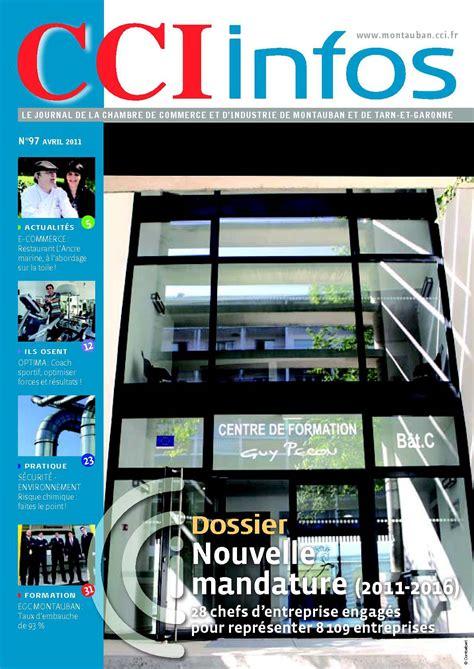chambre de commerce montauban calaméo cci infos avril 2011
