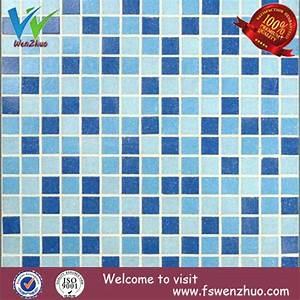Mosaique Piscine Pas Cher : bleu et blanc mosa que en verre pour les carreaux de ~ Premium-room.com Idées de Décoration