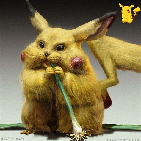 14 Artists Try To Imagine A More Realistic Pikachu
