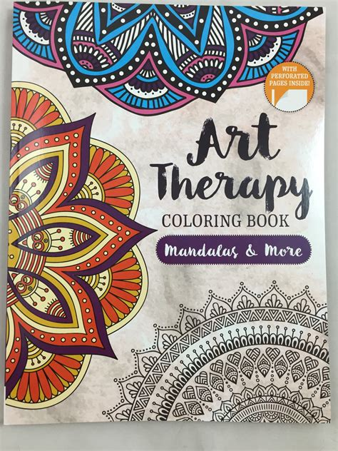 art therapy adult coloring book mandalas