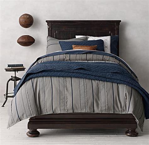 vintage baseball stripe baseball bedding collection