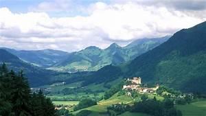 Château et village de Gruyères, Pays de Fribourg