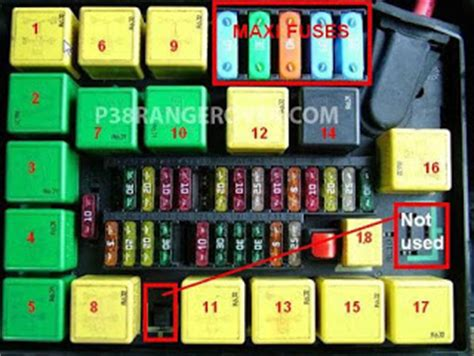 05 Range Rover Fuse Box Location by Range Rover World Fuse Box Info And Relays New Update