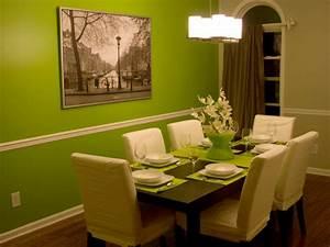Wandfarbe Für Esszimmer : 72 gute interieur ideen gr ne wandfarbe ~ Markanthonyermac.com Haus und Dekorationen