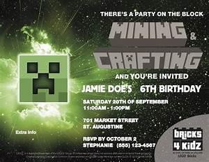 BRICKS 4 KIDZ Parties Events With LEGO Bricks MineCraft