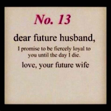 Dear Future Husband Quotes Images