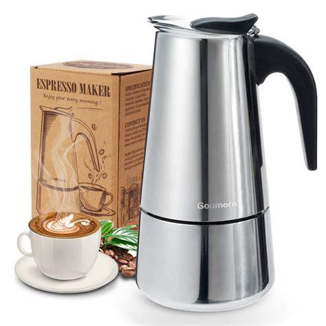 Best stovetop coffee makers for 2021. Godmorn Stovetop Espresso Maker, Moka Pot, Percolator ...