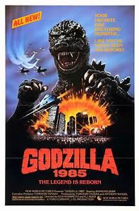 Poster for Godzilla (Gojira, aka Godzilla 1985: The Legend ...
