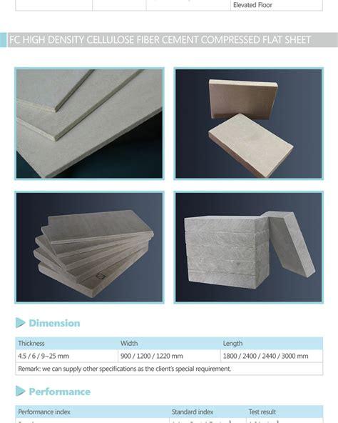 high density fiber cement sheeting boardfiber cement