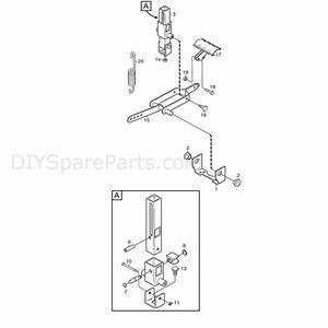 Stiga Comfort 16  2010  Parts Diagram  Pedal Lift