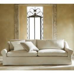 Pottery Barn Grand Sofa Size pottery barn windsor slipcovered grand sofa polyvore