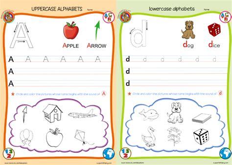 Preschool ABC Worksheets Printables
