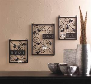 elegant candle sconces wall decor prodajlako homes With candle wall decor