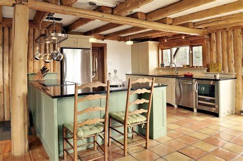 cozinha  vigas de madeira fotos  imagens