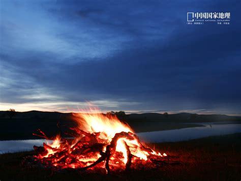 mongolia bonfire china national geographic wallpaper