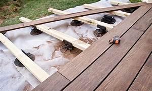 faire une terrasse sur lambourdes With comment faire une dalle de terrasse