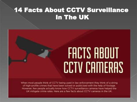 14 Facts About Cctv Surveillance In The Uk