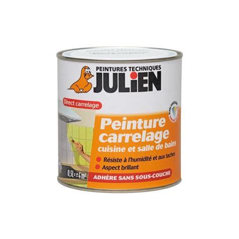 julien cuisine peinture carrelage brillante 0 5 l julien peinture discount