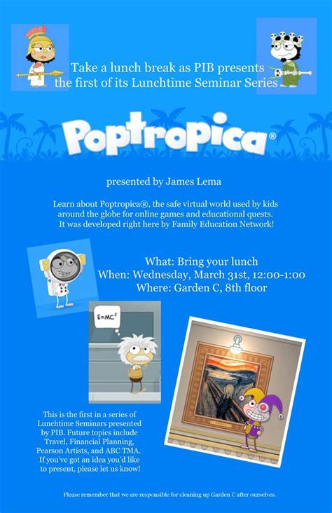 poptropica friends popping poptropica  blog