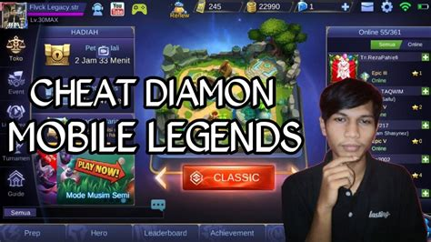 Cheat Mobile Legends Hack Tool 2018