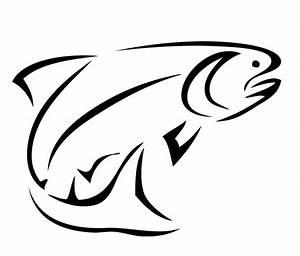 Bass Fish Outline - Clipartion.com