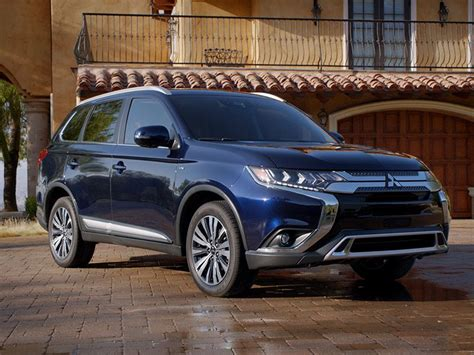 Mitsubishi Outlander Mileage by 10 Best Gas Mileage Suvs For 2019