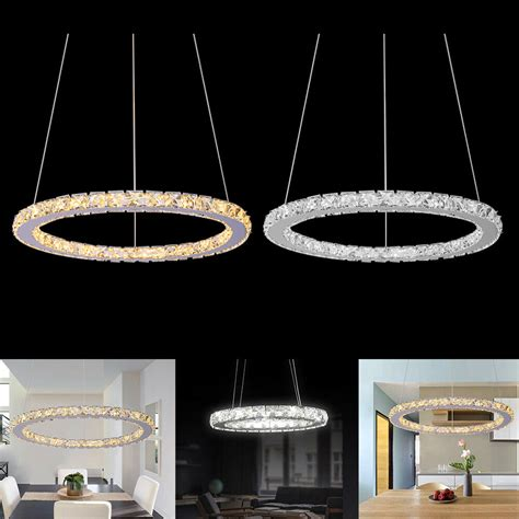 Led Light For Chandelier by Ring Led Pendant Light Ceiling L Galaxy